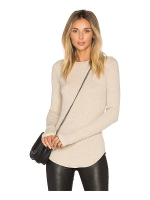 LNA Sloane Rib Long Sleeve Top