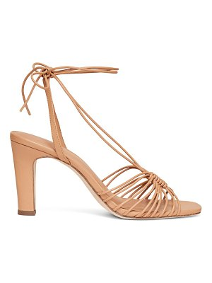 Loeffler Randall hallie strappy ankle wrap heeled sandals