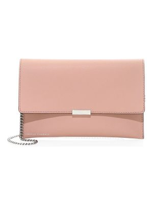 Loeffler Randall leather envelope clutch