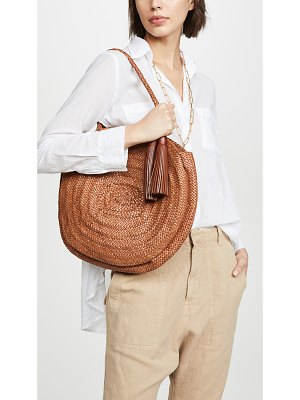 Loeffler Randall leilani woven circle shoulder bag