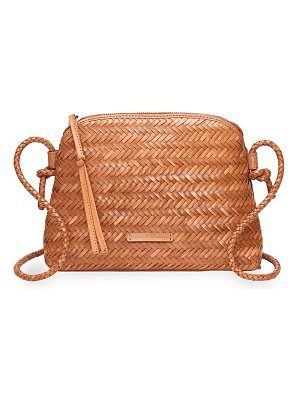 Loeffler Randall mallory woven leather crossbody bag