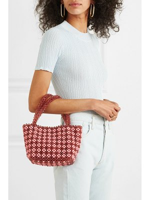 Loeffler Randall mina small beaded satin tote
