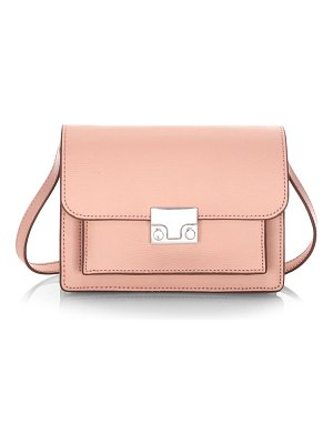Loeffler Randall mini minimal leather rider crossbody bag