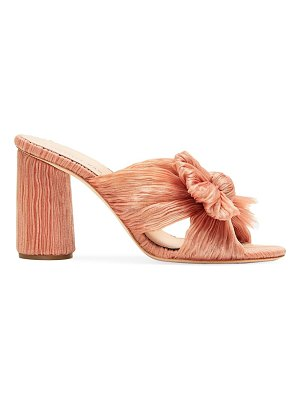 Loeffler Randall penny knotted mules