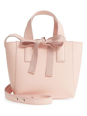 LOEFFLER RANDALL Ribbon Tie Mini Leather Shopper