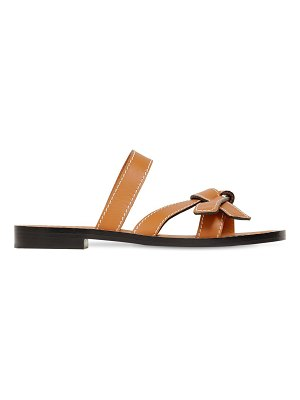 Loewe 10mm gate leather sandals
