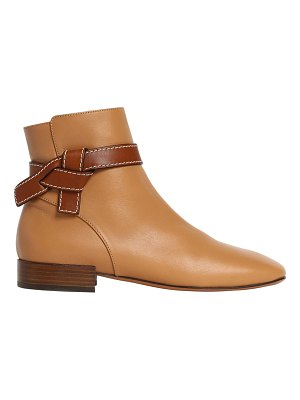Loewe 20mm gate leather ankle boots