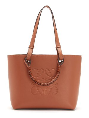 Loewe Anagram Small Classic Leather Tote Bag