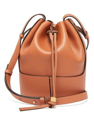 Loewe balloon small drawstring-top leather bucket bag