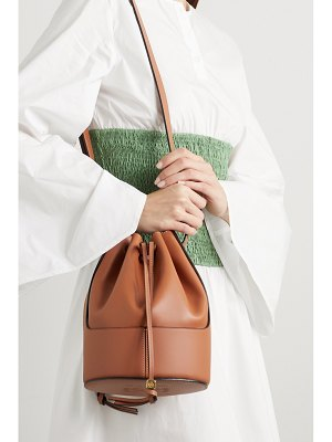 Loewe balloon small leather bucket bag