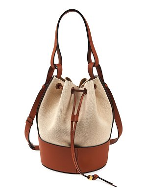 Loewe Balloon Small Two-Tone Bucket Bag