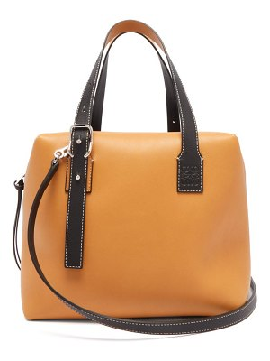 Loewe cube colour block leather handbag