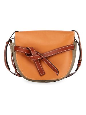 Loewe Gate Colorblock Soft Shoulder Bag