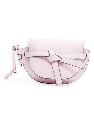 Loewe Gate Mini Grain Leather Shoulder Bag