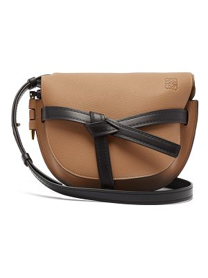 Loewe gate small grained leather cross body bag