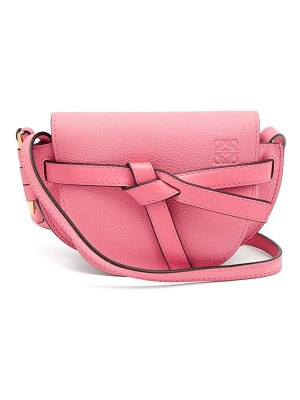 Loewe Gate Mini Grained Leather Cross Body Bag