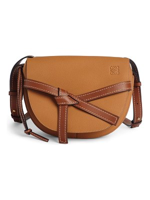 Loewe gate small leather crossbody bag