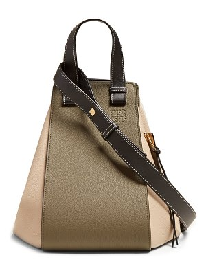 Loewe Hammock Medium Grained Leather Tote