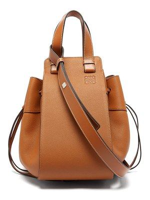 Loewe hammock medium leather tote bag