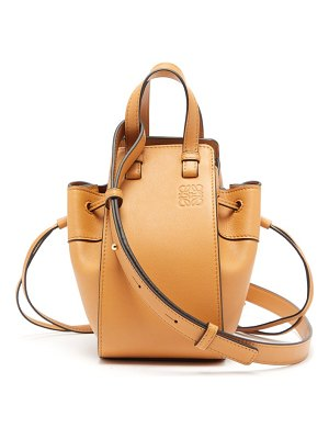 Loewe hammock mini leather tote bag