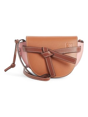 Loewe mini gate leather crossbody bag