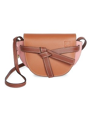 Loewe mini gate leather saddle bag