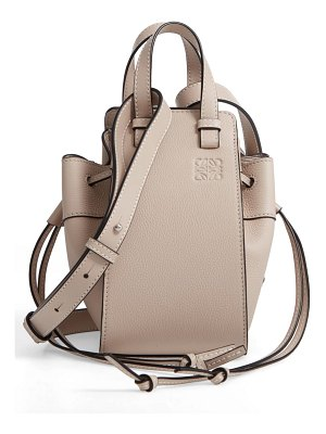 Loewe mini hammock leather hobo