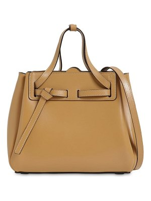 Loewe Mini lazo leather top handle bag