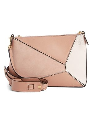 Loewe mini puzzle leather crossbody bag