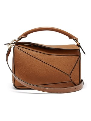 Loewe puzzle leather cross-body bag
