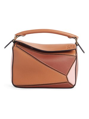 Loewe puzzle leather crossbody bag