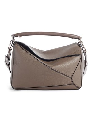 Loewe medium puzzle leather shoulder bag