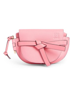 Loewe gate mini leather crossbody bag