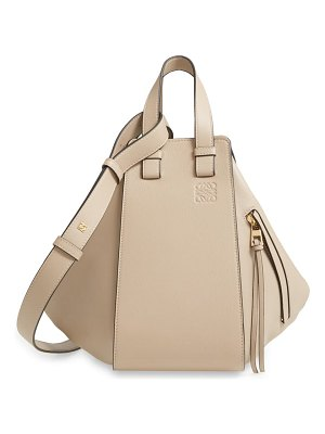 Loewe small hammock leather hobo bag
