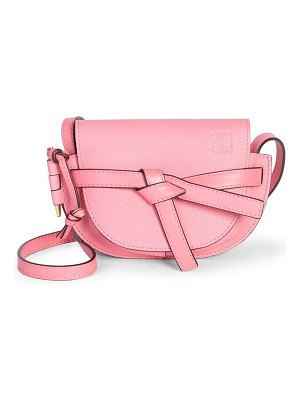 Loewe two-tone soft grained leather gate mini bag