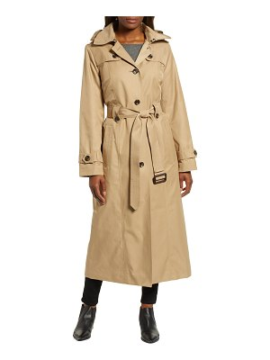 London Fog jill long trench coat