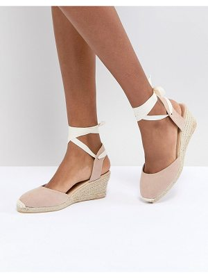 London Rebel Espadrille Wedge Shoe