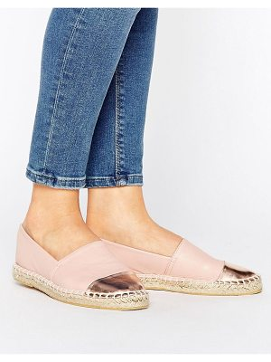 LONDON REBEL Flat Espadrille