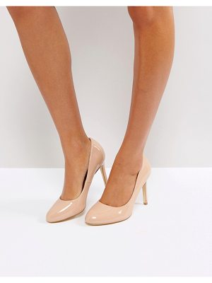 London Rebel round toe point high heels