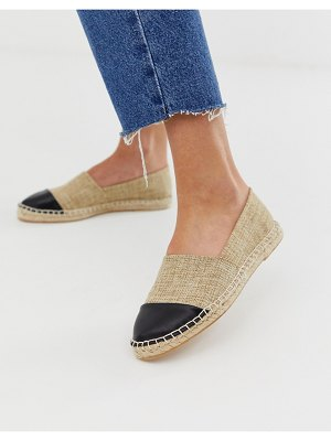 London Rebel toe cap espadrilles