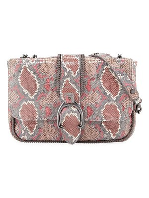 Longchamp Amazon Python Mini Crossbody Bag