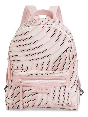 Longchamp small le pliage neo print backpack