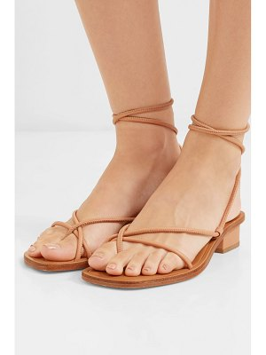 LOQ ara leather sandals