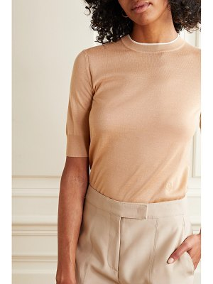 Loro Piana cashmere and silk-blend sweater