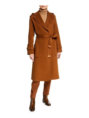 Loro Piana Cashmere Wrapped Trench Coat