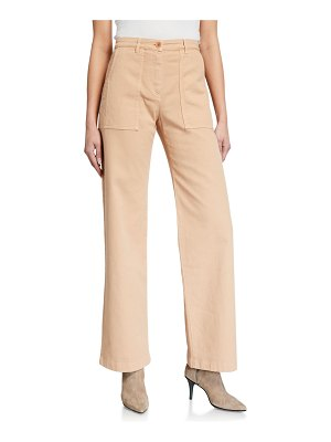 Loro Piana Dannie Straight-Leg Pants