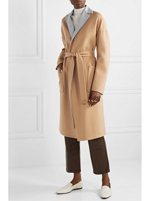 Loro Piana reversible belted cashmere coat