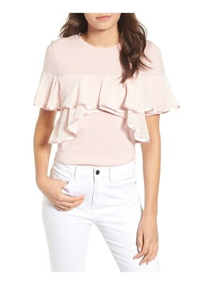 Lost Ink ruffle tee