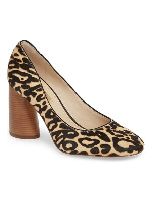 Louise et Cie jayant genuine calf hair pump