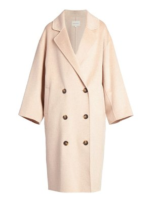 LOULOU STUDIO borneo double breasted wool & cashmere coat